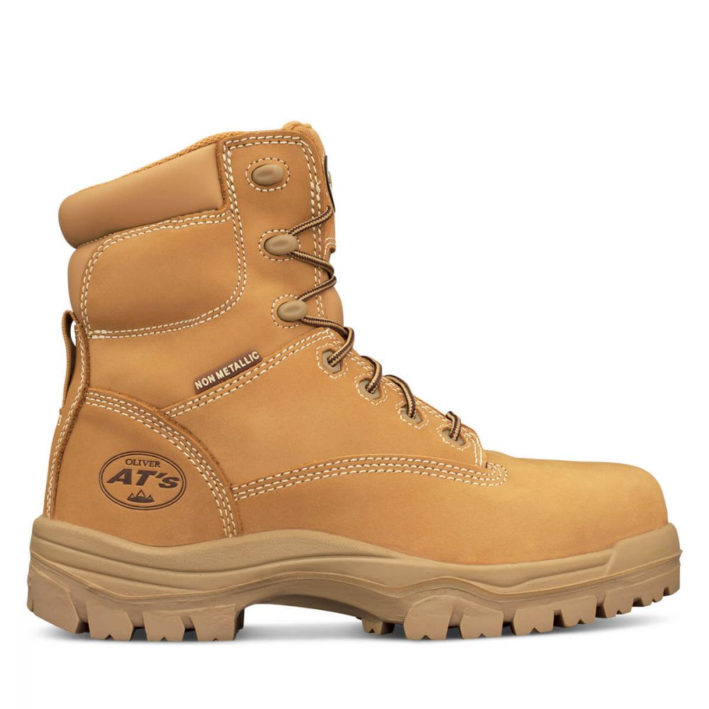 aa2732c24bf OLIVER AT's COMPOSITE TOE BOOT WHEAT 45632 - The Workers Shop