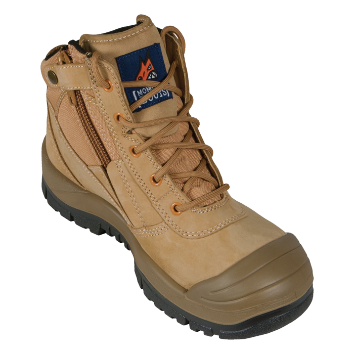 S/C ZIP SAFETY BOOT 461050