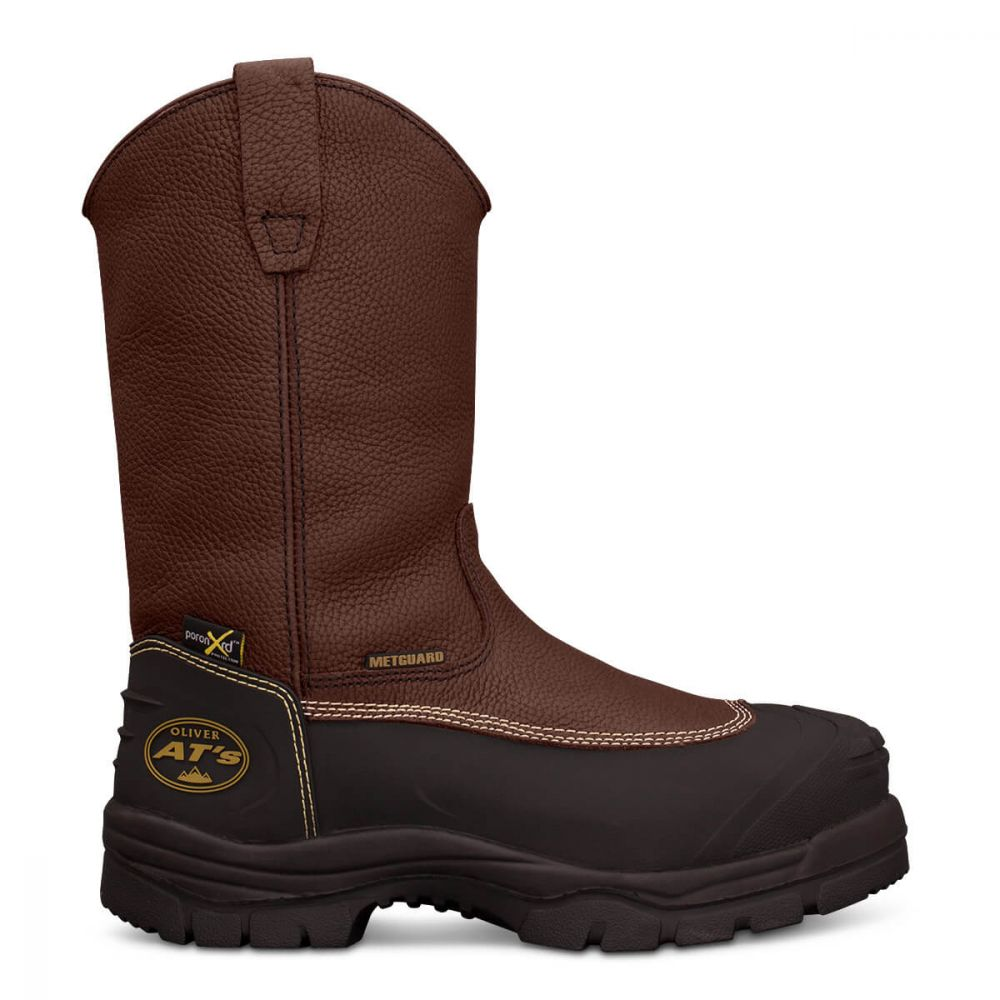 fa3c1ffefd5 Oliver Safety Lace Up Chemical Resistant Boot Brown 65390
