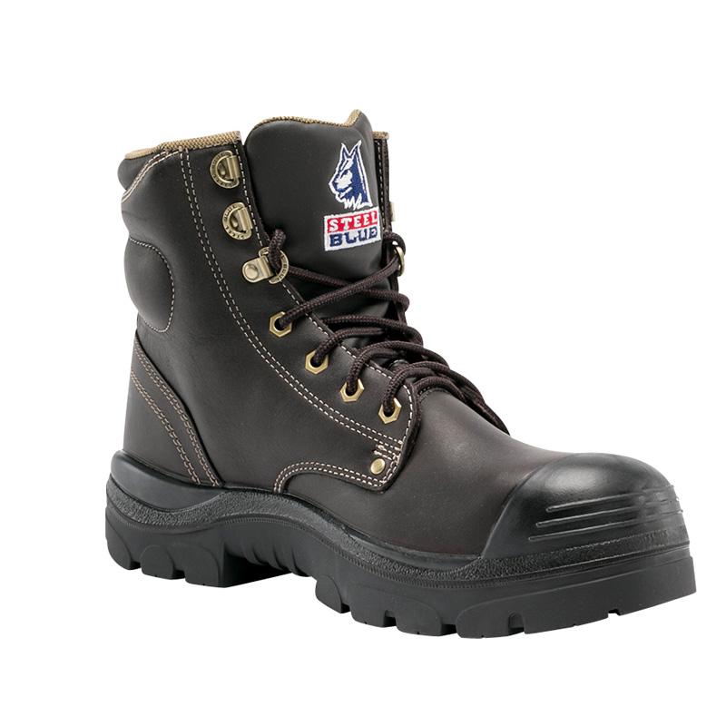 Steel Blue Work Boots – Tpu/bump Cap - Whisky 150mm 332102