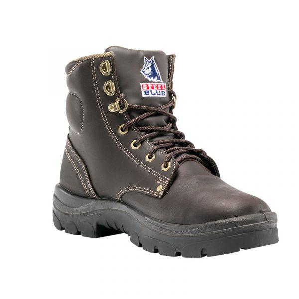Steel Blue Work Boots Whiskey - Argyle 150mm 312102