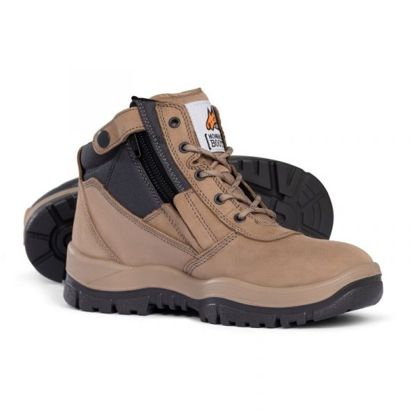 Zip sided safety boot 261060