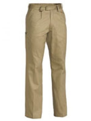 Bisley Cotton Drill Trousers Khaki BP6007