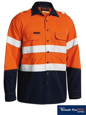 Bisley Hrc2 Frc Shirts Orange Bs8082t