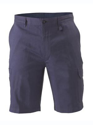 Bisley Light Weight Cargo Short Navy Bsh1999