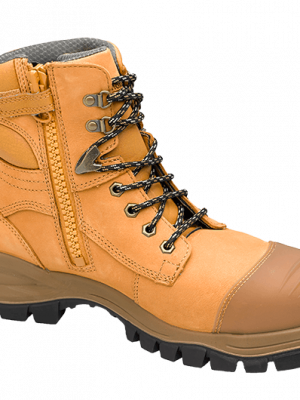 Blundstone S/c Zip Sided Safety Boot Wheat 992