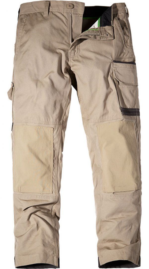 FXD Cargo Trousers Khaki WP-1