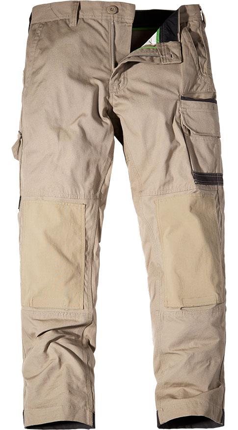 FXD Cargo Trousers Khaki WP-1
