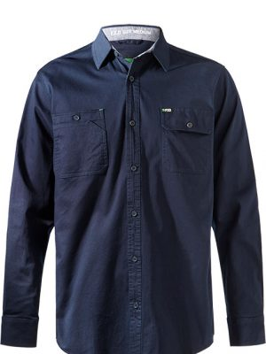 Fxd L/sl Stretch Shirt Lsh-1 Navy