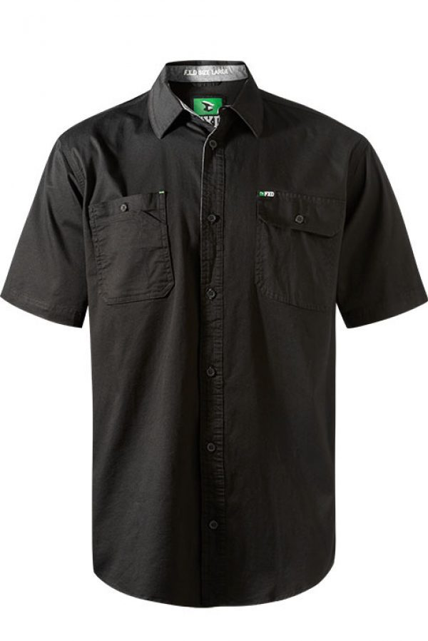 Fxd S/sl Stretch Shirt Ssh-1 Black