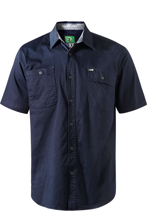 Fxd S/sl Stretch Shirt Ssh-1 Navy