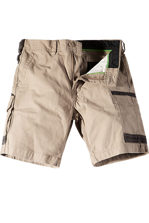 FXD Stretch Cargo Shorts Khaki WS-3