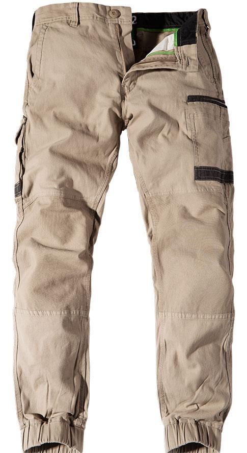 FXD Stretch Cuff Trousers Khaki WP-4