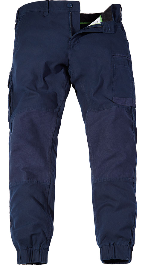FXD Stretch Cuff Trousers Navy WP-4