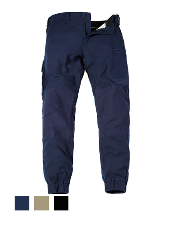 FXD Stretch Cargo Cuff Pant Navy