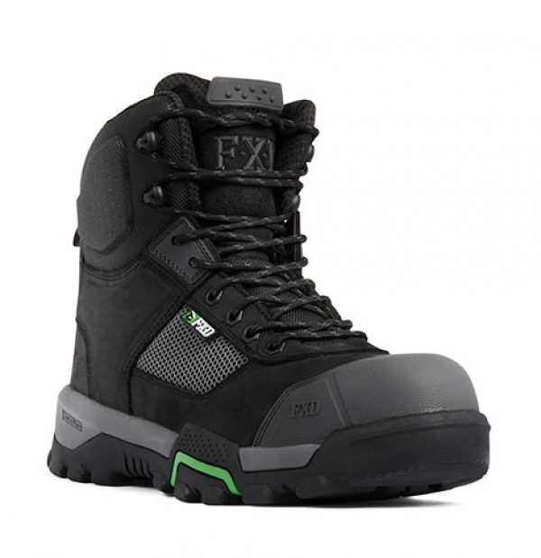 Fxd Zip 6inch Boot Black Wb1