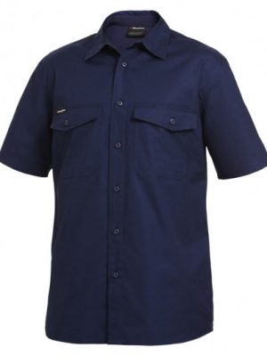 King Gee S/sl Workcool 2 Shirt Navy K14825