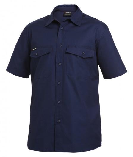 King Gee S/sl Workcool 2 Shirt Navy K14825