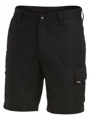 King Gee Workcool 2 Cargo Shorts Black K17820