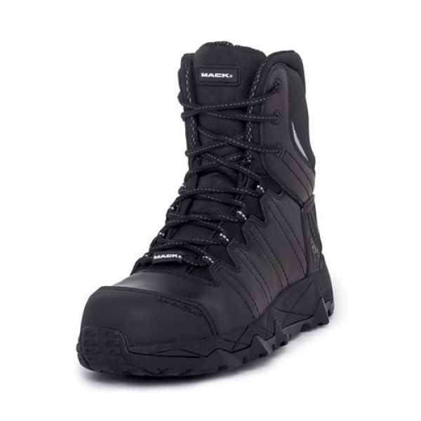Mack Zip Workboot Terrapro Black