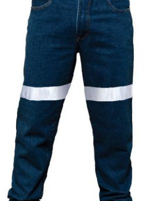 Ritemate Taped Stretch Jean Navy Rm110sdr