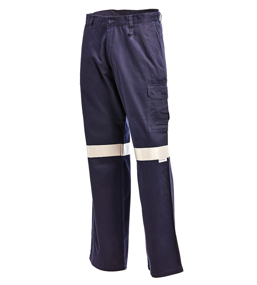 Workit Drill Trouser Taped Navy 1004t