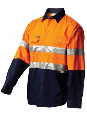 Workit L/sl Lightweight Taped Shirt Orange 2013