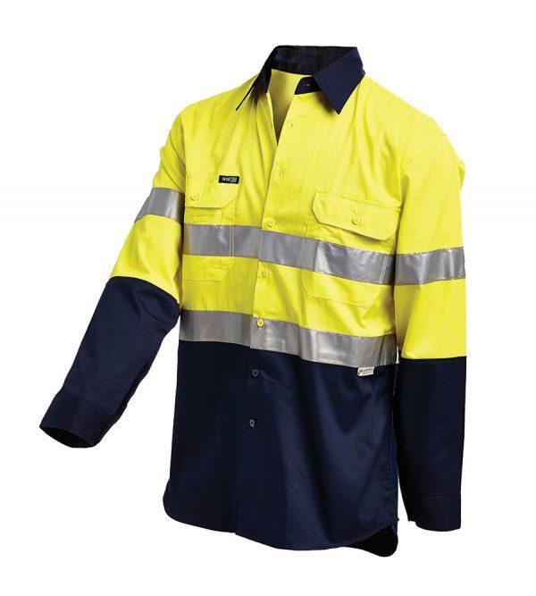 Workit L/sl Lightweight Taped Shirt Yellow 2013