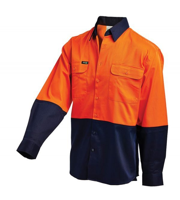 Workit L/sl L/w Shirt Orange 2007