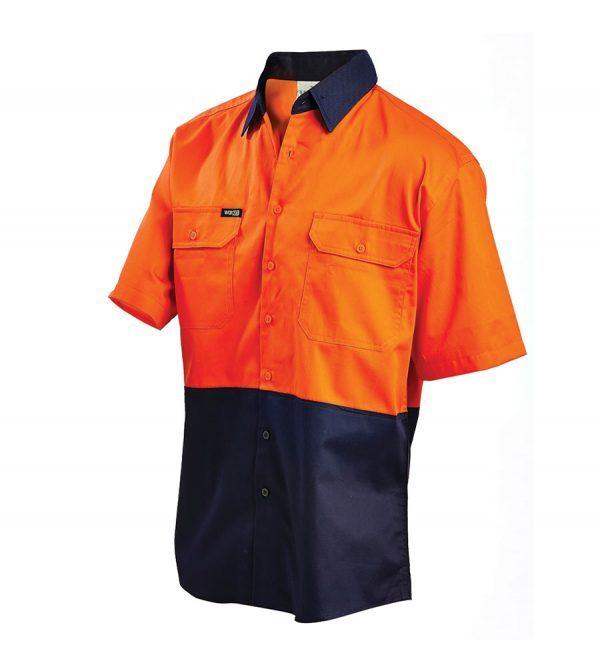 Workit S/sl L/w Shirt Orange 2008