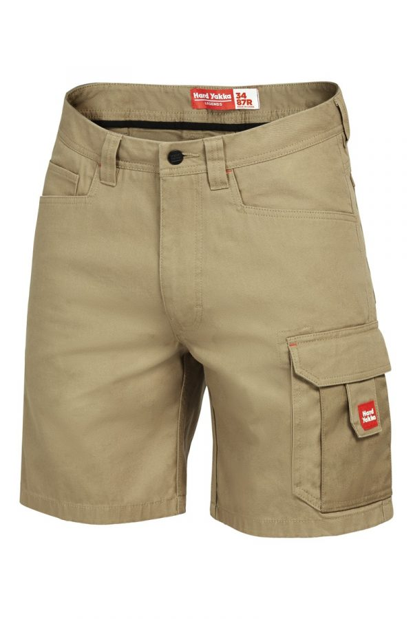 Yakka Legends Shorts Khaki Y05066