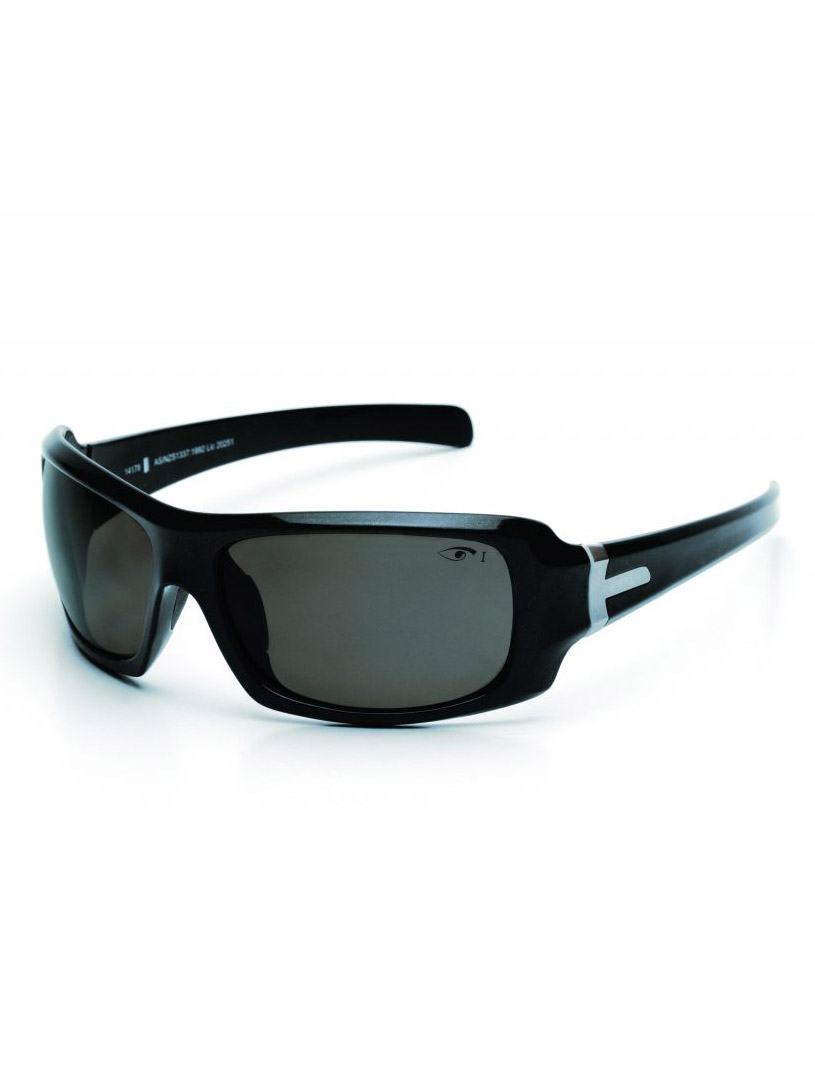 Eyres Hotrod Polarised Safety Glasses Smoke Es622sbpg