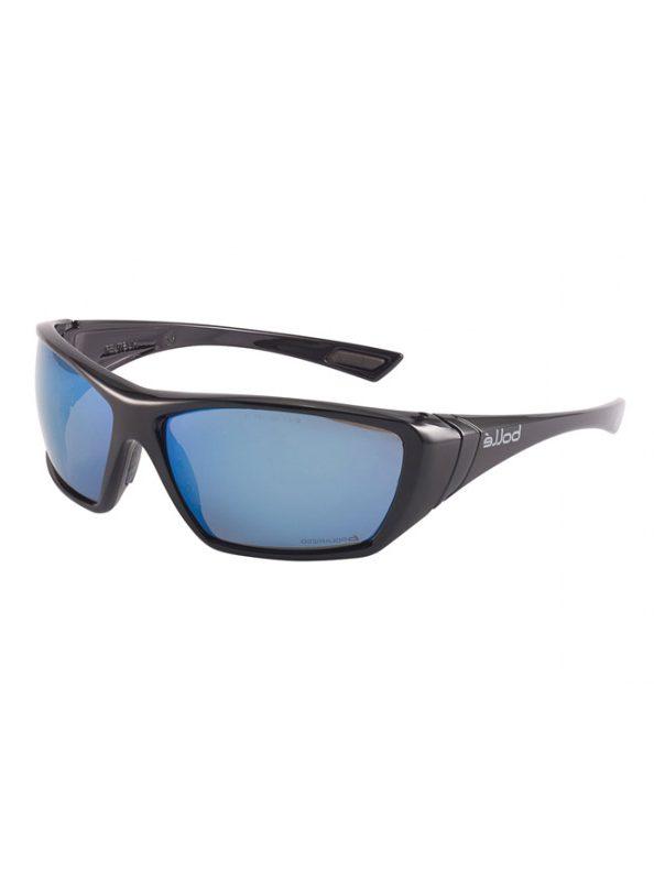 Bolle Hustler Polarised Blue Mirror Safety 1652618
