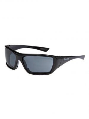 Bolle Hustler Polarised Safety Glasses Smoke 1652607