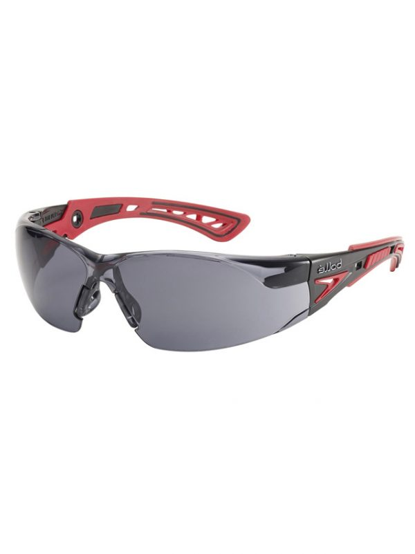 Bolle Rush Plus Safety Glasses Smoke 1662302