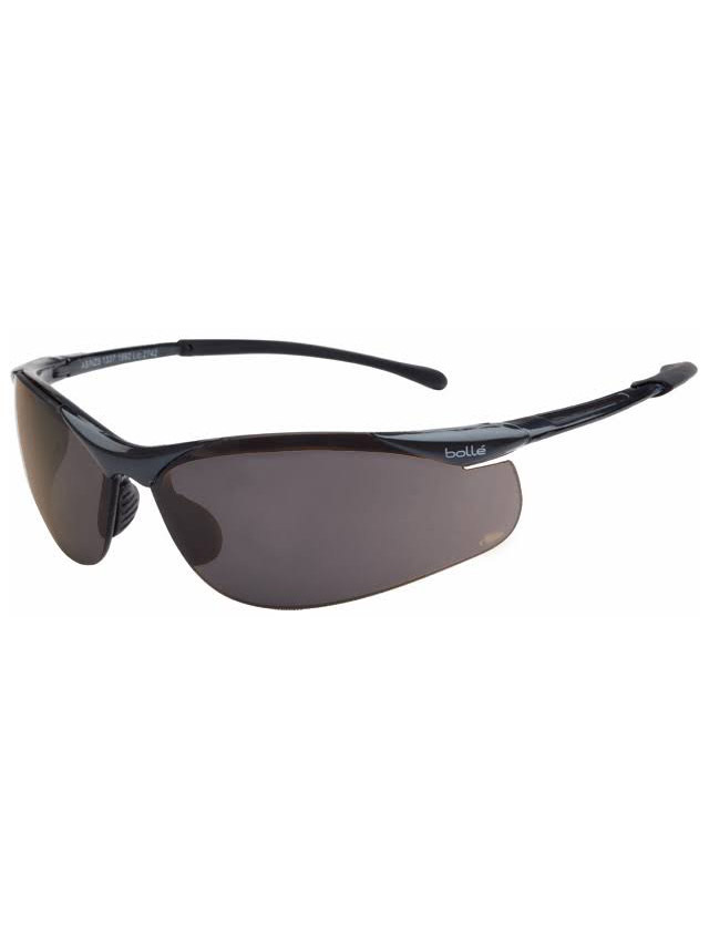 Bolle Sidewinder Polarised Safety Glasses Smoke 1652107