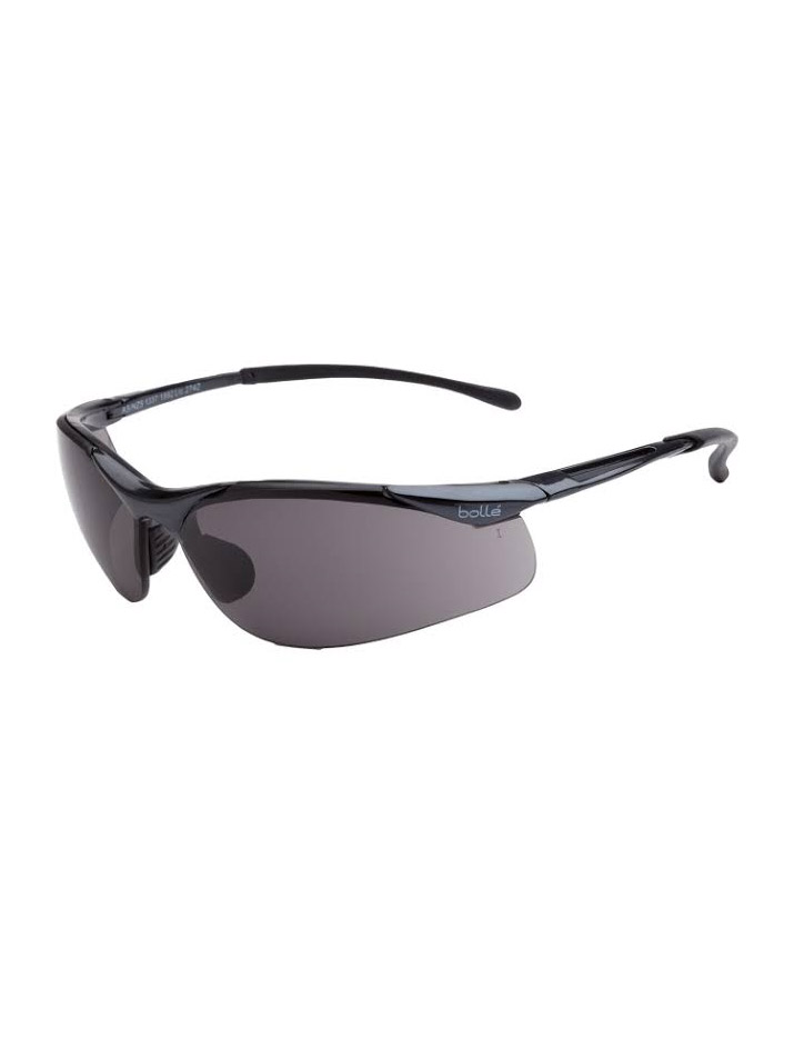 Bolle Sidewinder Safety Glasses Smoke 1615502