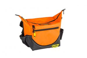 Insulated crib bag orange