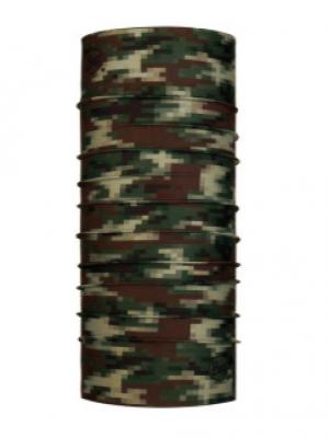 Buff Coolnet UV + Face Sock Army