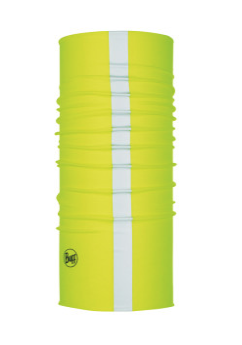 Buff Coolnet UV + Face Sock Yellow Reflective