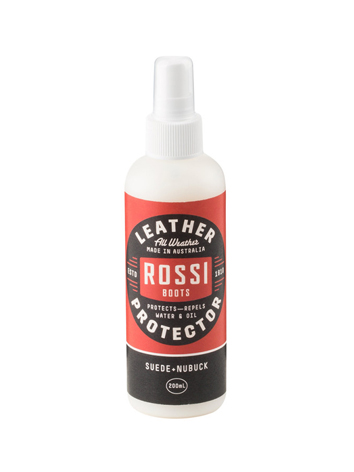 Rossi Boots Suede Nubuck Leather Spray Protector