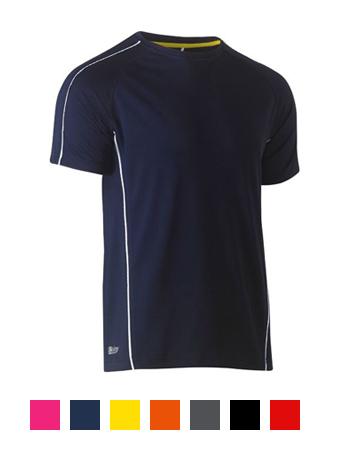 Bisley Cool Mesh T-Shirt BK1426 Navy