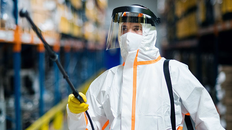 chemical worker protection gear