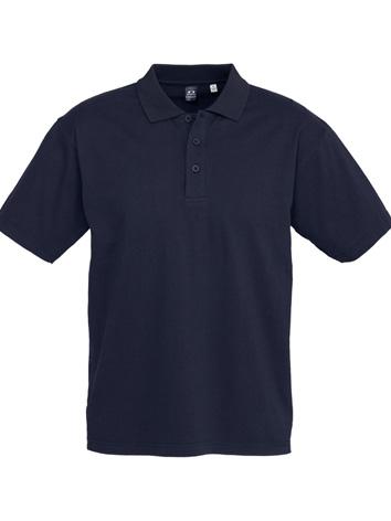 Fashion Biz Ice Polo 100% Premium Combed Cotton Navy