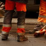 uniform on road workers workwear